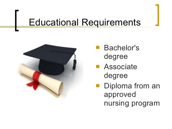 education to be a registered nurse