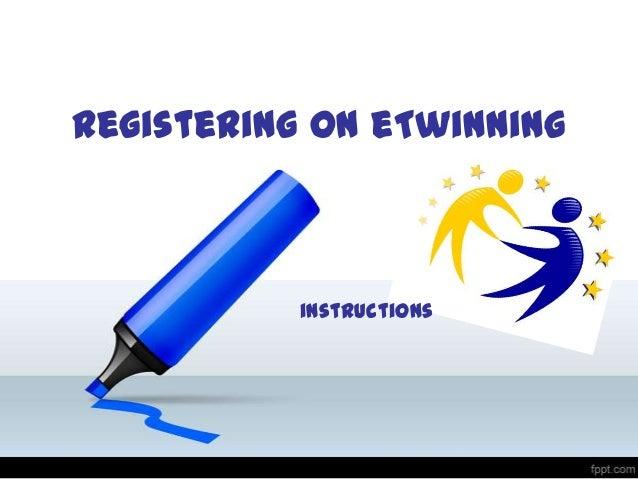 Registering on eTwinning