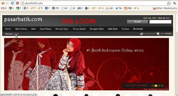 Registrasi Pasarbatik.com