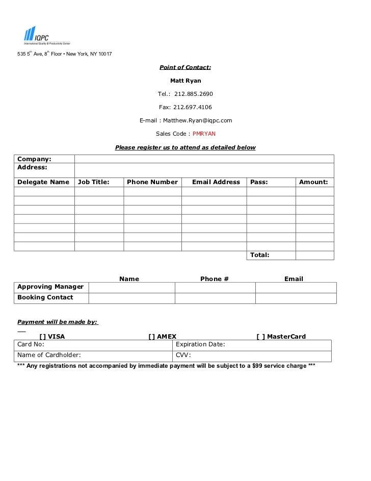 Registration Doc Mr
