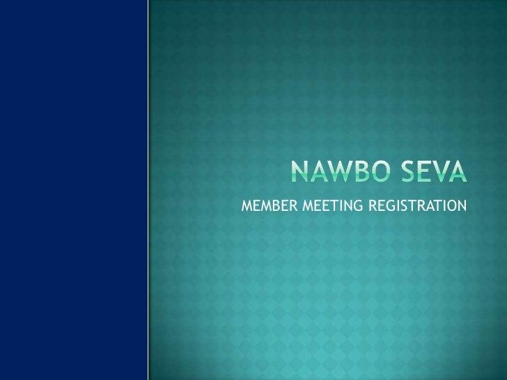 Registration member