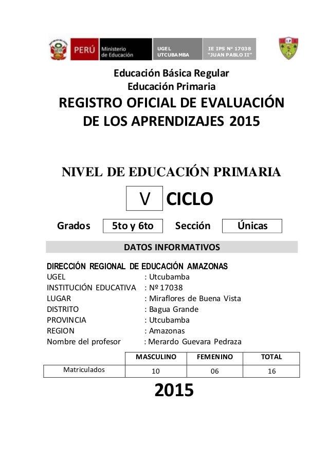 Registro Auxiliar En Blanco 2015 Secundaria - newhairstylesformen2014 ...