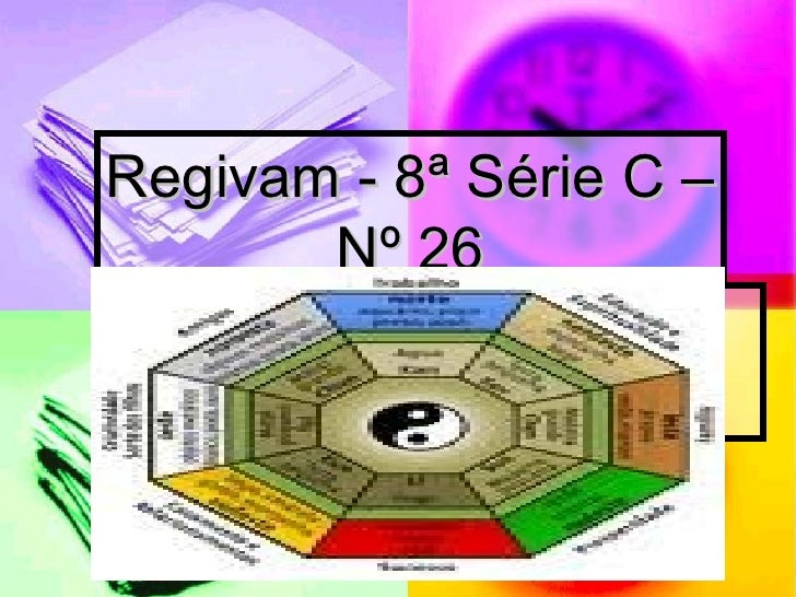 Regivam - 8ª Série C – Nº 26