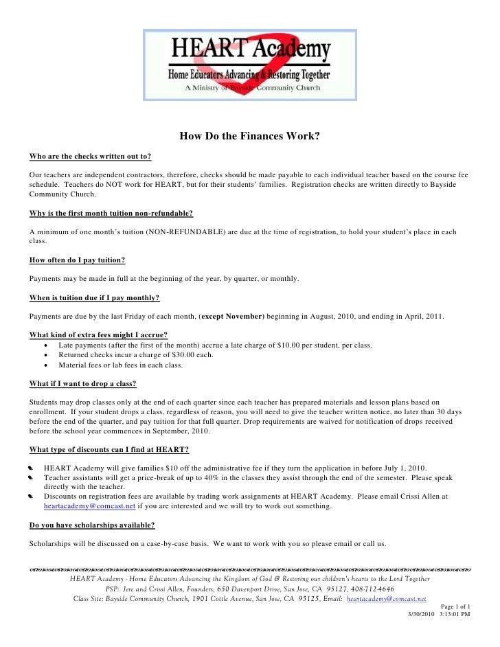 Reg Kit 2 How Do The Finances Work