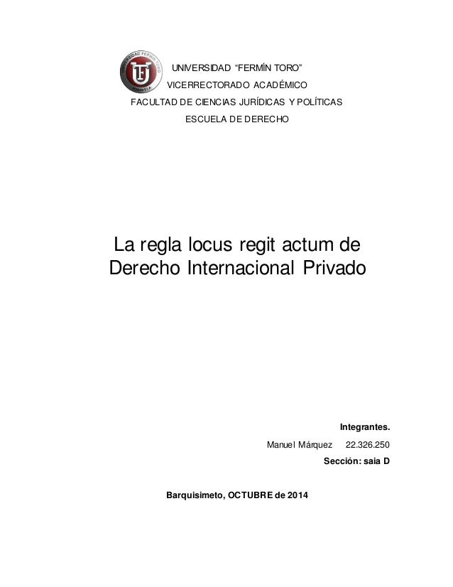 """UNIVERSIDAD """"FERMÍN TORO""""  VICERRECTORADO ACADÉMICO  FACULTAD DE CIENCIAS JURÍDICAS Y POLÍTICAS  ESCUELA DE DERECHO  La re..."""