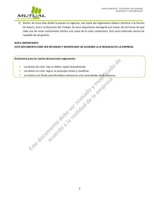 Reglamento Interno De Seguridad Y Salud En El Trabajo De Newhairstylesformen2014 Com