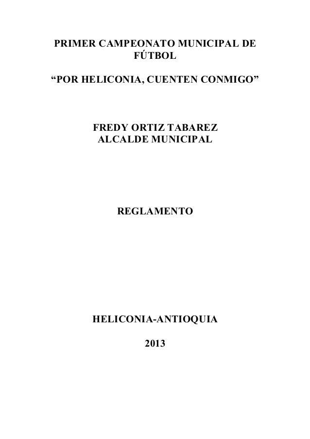 Reglamento campeonato futbol_2013