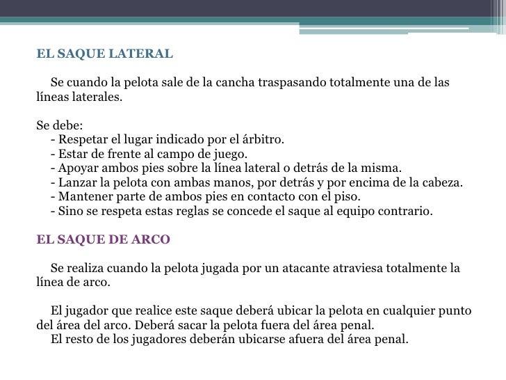 Reglamento de f tbol 11 for Cuando es fuera de lugar futbol