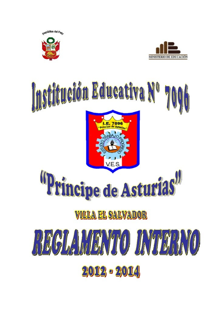 Reglamento interno 2012-2014  pda aprobado