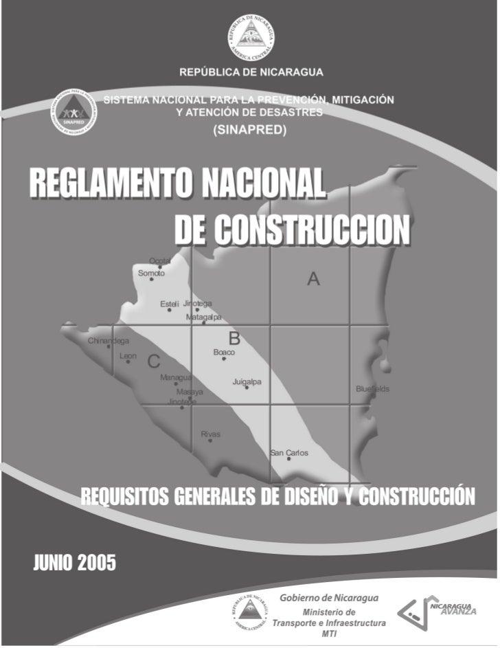 Reglamento Nacional de Construcción   1