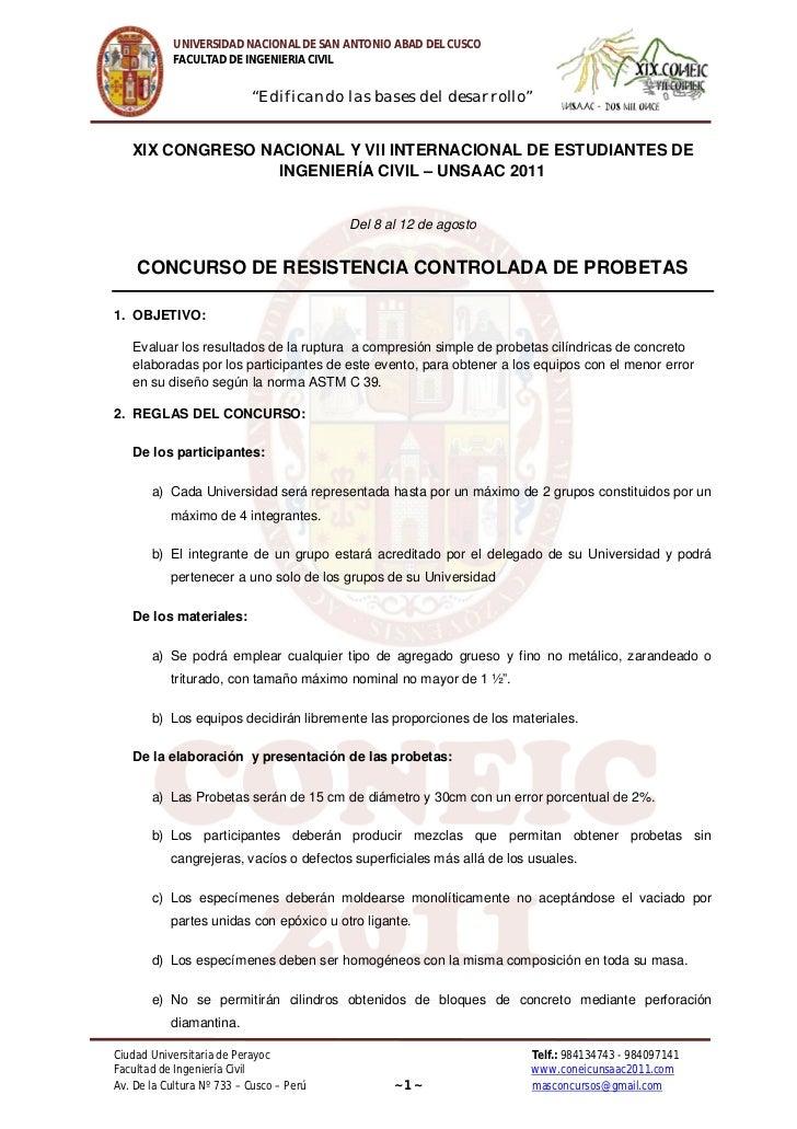 """UNIVERSIDAD NACIONAL DE SAN ANTONIO ABAD DEL CUSCO            FACULTAD DE INGENIERIA CIVIL                           """"Edif..."""