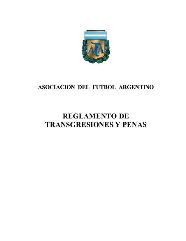 Reglamento transgresiones y_penas_afa_marzo_2007[1]