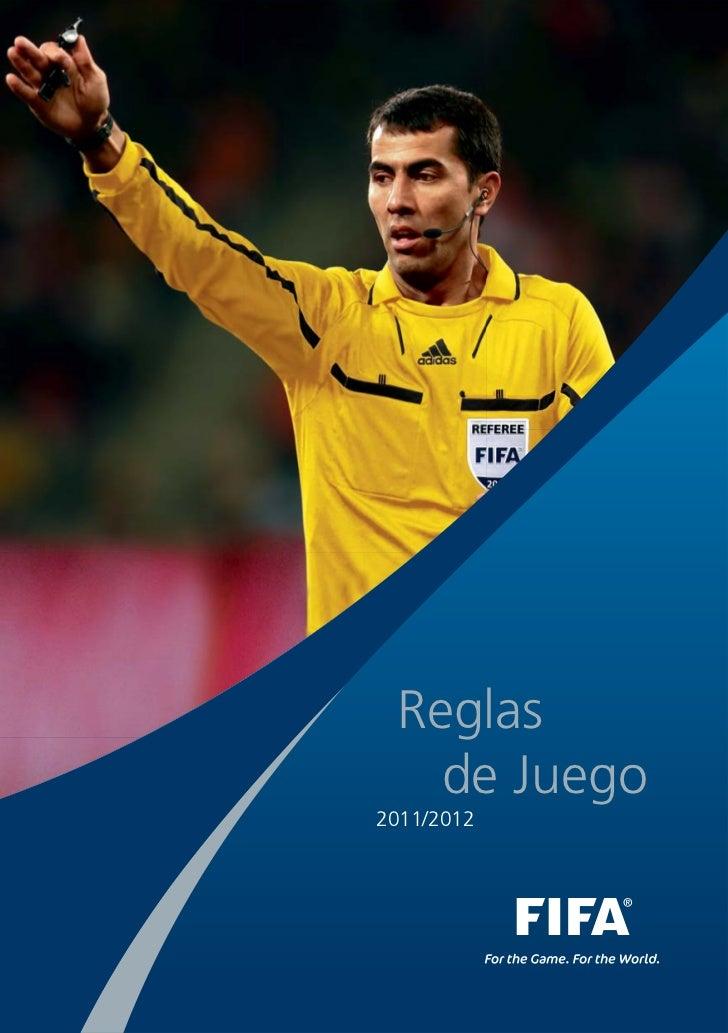 Fifa reglas de juego 2011 12 for Regla fuera de juego futbol