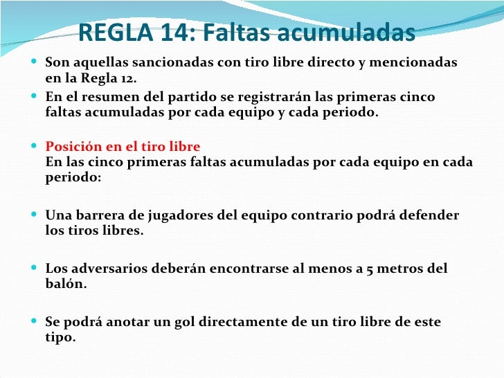 Reglas del futbol de salon for 5 reglas del salon de clases