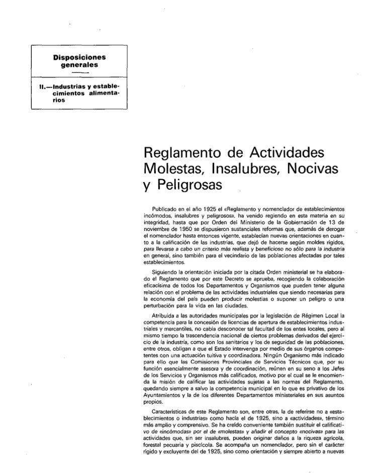 Disposiciones             generales/    IL-Industrias     y estable-          cimientos    alimenta-          rios        ...