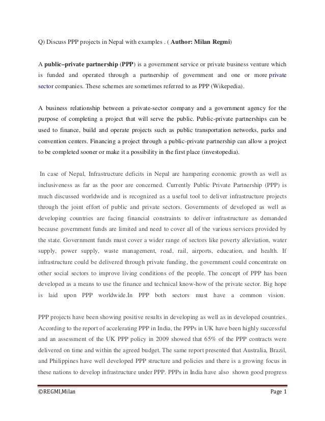 (C) Regmi_Public Private Partnership