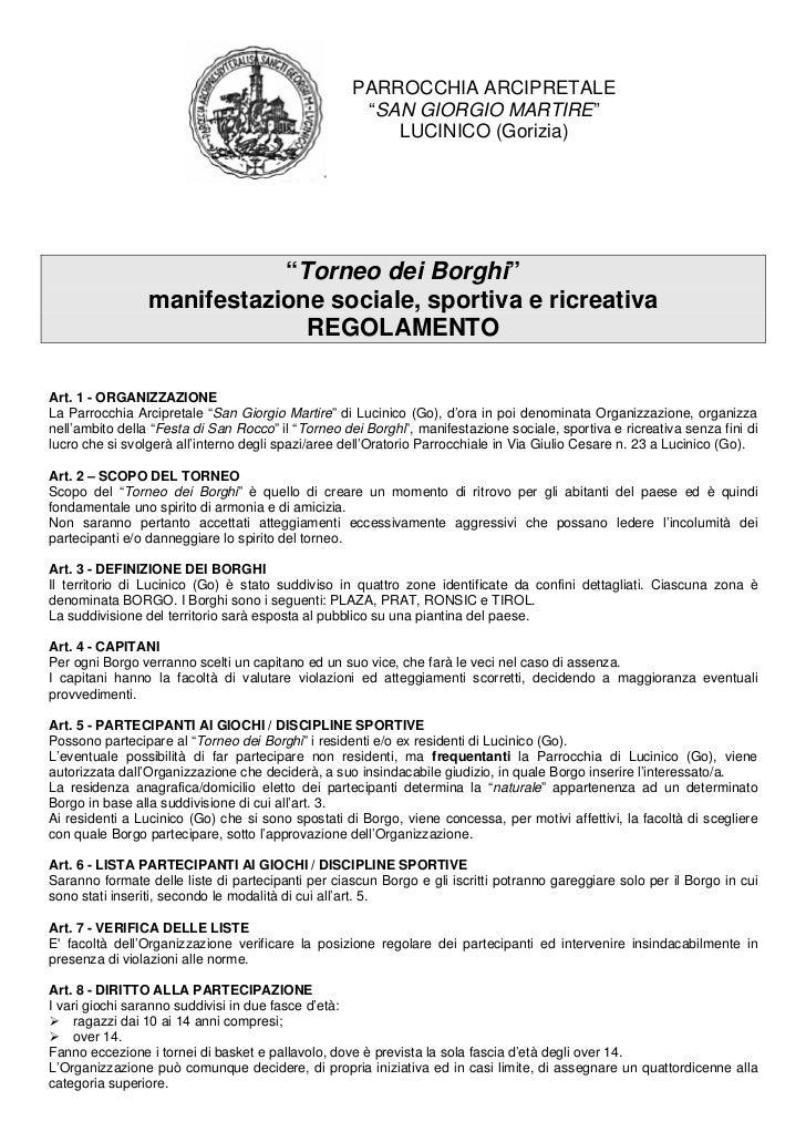 """PARROCCHIA ARCIPRETALE                                                     """"SAN GIORGIO MARTIRE""""                          ..."""