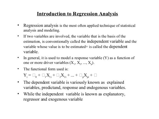 regression analysis research Our professional team will gladly assist you on the regression spss  of data and regression analysis will allow for the  research assistance outcome.