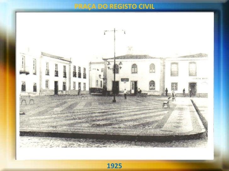 1925 PRAÇA DO REGISTO CIVIL