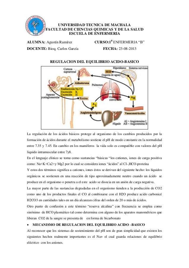UNIVERSIDAD TECNICA DE MACHALA FACULTAD DE CIENCIAS QUIMICAS Y DE LA SALUD ESCUELA DE ENFERMERIA ALUMNA: Agustín Ramírez C...