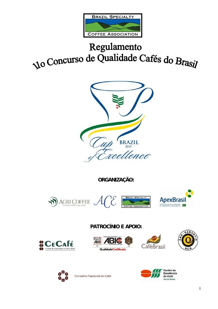 Regulamento Concurso de qualidade 2010