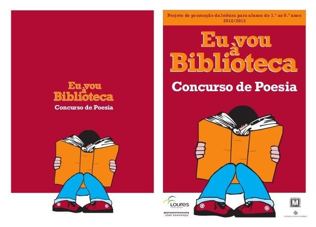 Projeto de promoção da leitura para alunos do 1.º ao 9.º anos                                             2012/2013       ...