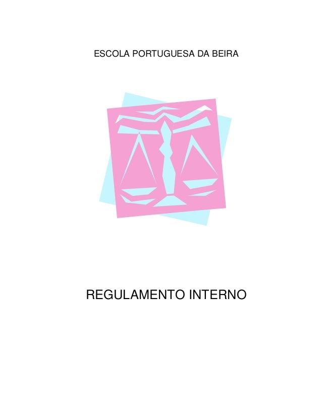 Regulamento Interno