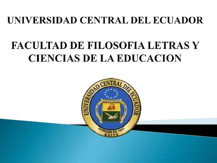 Regular and irregular verbs Universidad Central del Ecuador Escuela de Idiomas Almeida Jorge