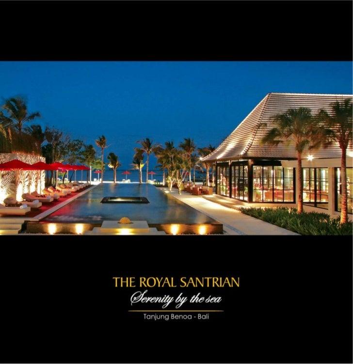 The Royal Santrian - Brochure Small