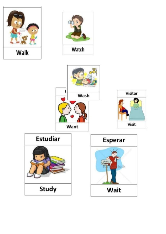 Regular verbs imagenes