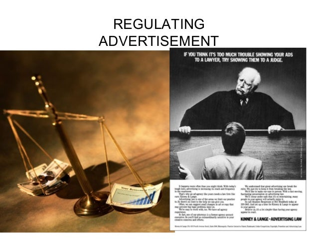 REGULATING ADVERTISEMENT