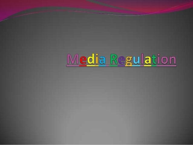 Regulating print media updated