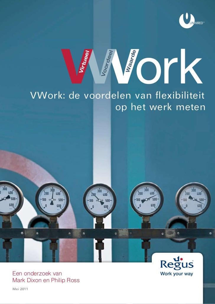 VWork: de voordelen van flexibiliteit op het werk meten