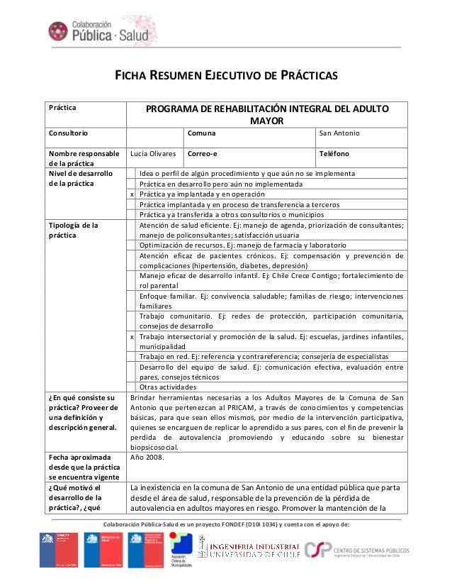 Colaboración Pública-‐Salud es un proyecto FONDEF (D10I 1034) y cuenta con el apoyo de: ...