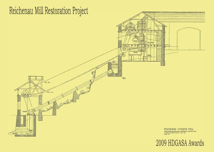 Reichenau mill restoration project