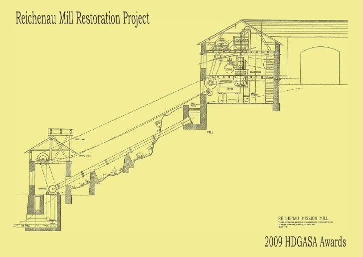 Reichenau mill restoration project