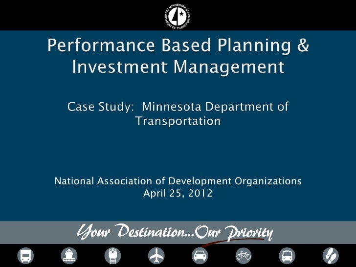 National Association of Development Organizations                   April 25, 2012