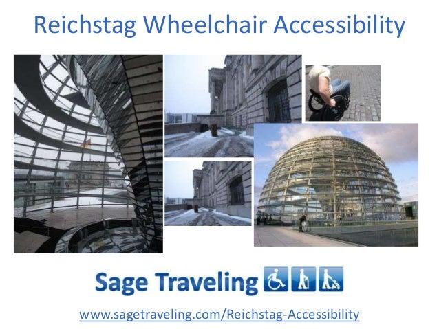 Reichstag Wheelchair Accessibility