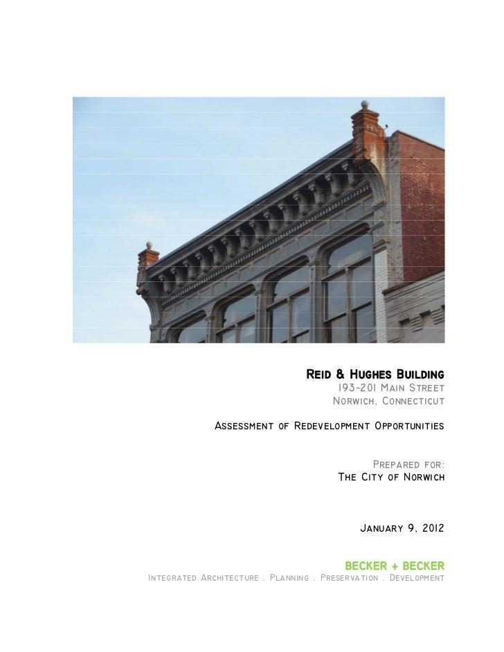 Reid & hughes assessment, becker+becker, 2012
