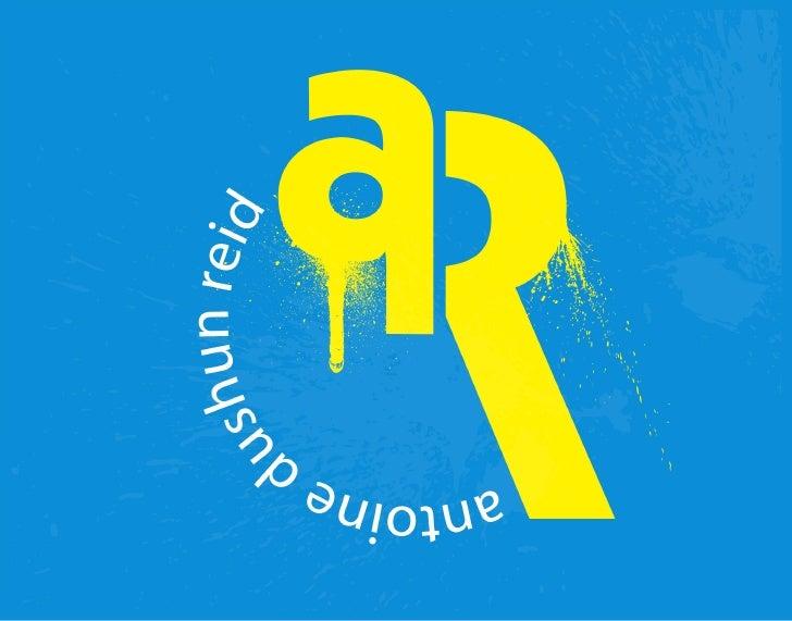 Antoine Reid - Resume and Portfolio