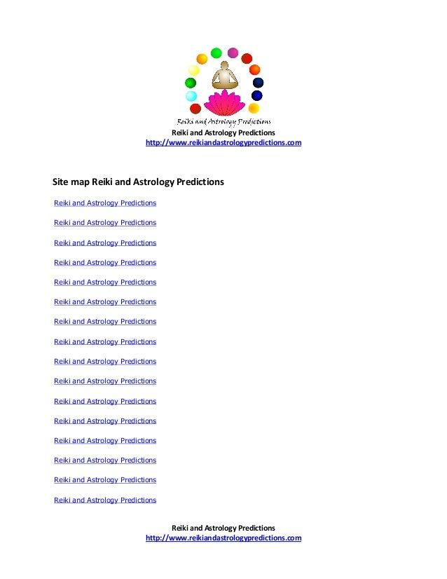 Reiki and astrology predictions i