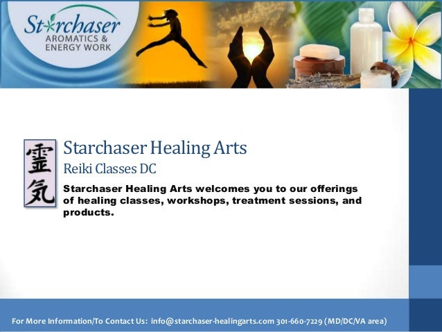 Starchaser Healing Arts             Reiki Classes DC             Starchaser Healing Arts welcomes you to our offerings    ...