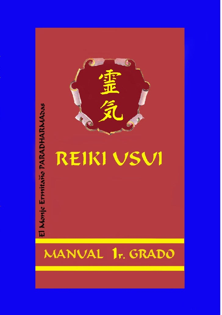 """Diseño del libro y portada, Autor como escritor:      """"El Moje Ermitaño PARADHARMAdas""""          REIKI USUI TRADICIONAL    ..."""