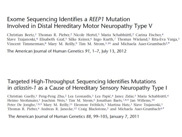 Dra mary reilly 39 neuropat as perif ricas hereditarias 39 Hereditary motor neuropathy