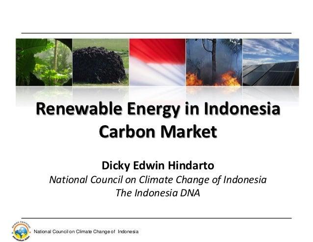 Renewable Energy  in Carbon Market