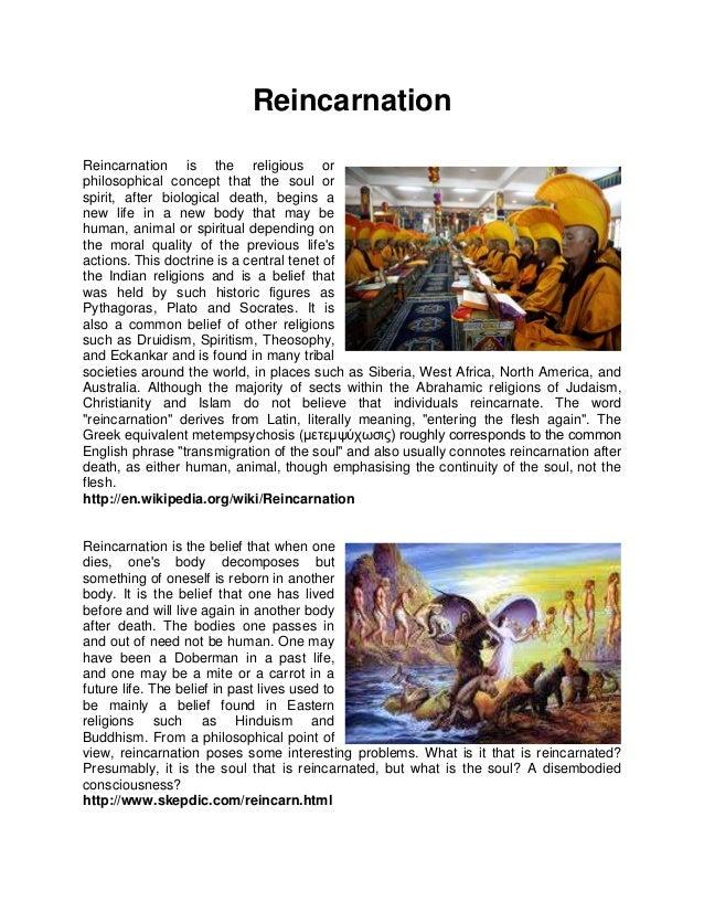 Reincarnation by Constantinos Patsalis