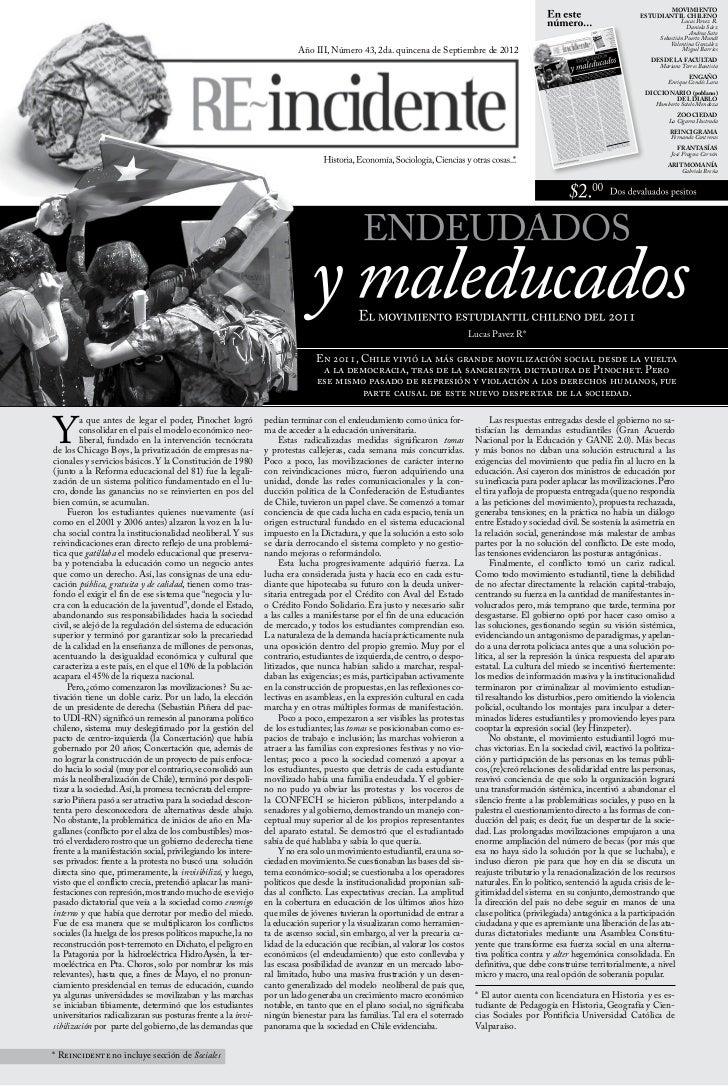 Revista Reincidente 43