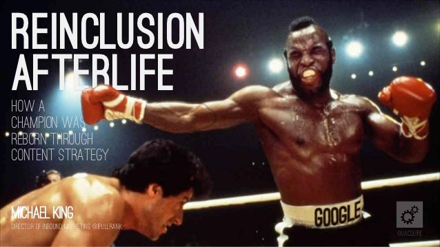 Reinclusion Afterlife
