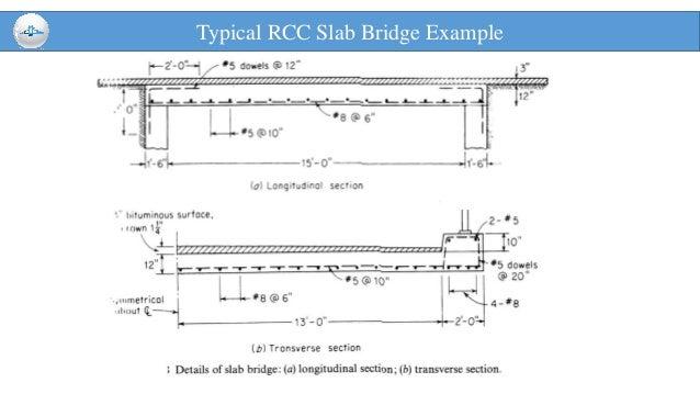 Rcc Slab Design : Reinforced slab bridge design aashto allowable stress