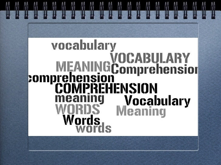 Reinforcing vocabulary